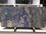 Боливия синий Quartzite полированной плитки&слоев REST&место на кухонном столе