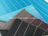 Рубашка покрашенная пряжей хлопка нашивки Fabric-Lz7716