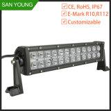 12 polegadas 12V do veículo na barra de luz LED para caminhões em andamento 72W