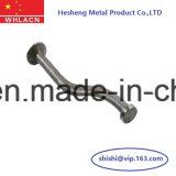 La construcción la construcción de los componentes de metal curvado de anclaje de polo