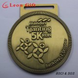 Custom 3D Logo Gold Silver Copper Motorcycle Race Medal
