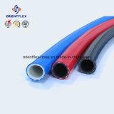 Macchinetta a mandata d'aria flessibile del PVC di alta pressione con i montaggi d'ottone
