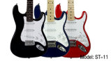 Guitarra eléctrica de la fábrica de las existencias del arce falso colorido al por mayor de la llama