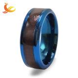 De Ring van de Ster van het Plateren van het Inlegsel van de Mensen van het Roestvrij staal van de Juwelen van de manier