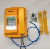 Telefono resistente all'intemperie esterno del telefono approvato della linea terrestre del Ce per gli impianti offshore