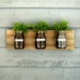 Mason Jar Wall Hanging Planter