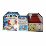 Papierfamilien-Partei-Verein-Brettspiel-Plastikkarten-Schürhaken-Karten