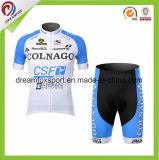 Bicicleta popular de ciclagem Jersey da impressão do Sublimation do desgaste dos homens respiráveis feitos sob encomenda