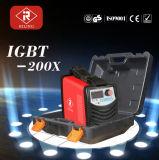 Machine de soudure de l'inverseur IGBT/MMA avec du ce (IGBT-120X/140X/160X/180X/200X/250X)