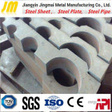 Taglio di taglio personalizzato del piatto d'acciaio della macchina di taglio del piatto d'acciaio di CNC
