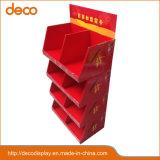 Gruß-Karten-Pappfußboden-Bildschirmanzeige-Papier-Bildschirmanzeige-Regal für Einzelverkauf