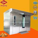Equipamiento de cocina 64 de la bandeja de horno bastidor giratorio de Gas para panadería