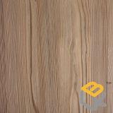 Papel decorativo del grano de madera para la puerta, la cocina, y los muebles del fabricante chino