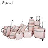 Сочетание пакетов случайных стиле розового цвета поездок с качения колеса