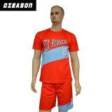 2017 Großverkauf-kundenspezifische Sublimation-preiswertes Preis-Fußball-Jersey-Fußball-Hemd
