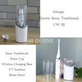 Viajes recargables inalámbrico cepillo dental eléctrico Bamboo Cepillo de dientes adultos fabricantes