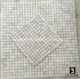 Barato de banho de pedra mármore piso de mosaico/ladrilho de parede