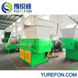 Reciclagem de película de plástico de papel industrial Triturador de eixo único