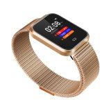 Smart Watch voor Android-telefoons en iOS-telefoons, compatibele iPhone Samsung, metalen riem Smartwatch Waterproof Fitness Tracker Fitness Watch Heart Rate Monitor
