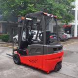 Beste Stabiele AC van de Kwaliteit Volledige de drie-Wielen 1.6ton/2.0ton van Motoren Dubbele Voor Drijf Elektrische Vorkheftruck