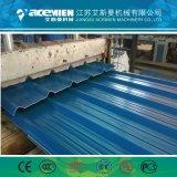 Feuille de carton ondulé double couche de plastique PVC Tuile/de la machine de l'extrudeuse