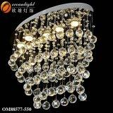 Lampada Pendant Om089 di goccia di cristallo della lampada Pendant dello schermo della stringa