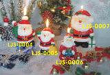 Bougie de Noël
