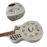 Corpo em latão Formato Cutway Aiersi Parlour Guitarra da câmara antivibrações