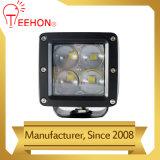 12W Refletor LED LED 4D via Luz de Trabalho