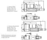 Actuador lineal hidráulica eléctrica