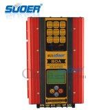 Suoer12V/24V/48V 80um controlador de Energia Solar MPPT Controlador de Carga Solar (filho-MPPT-80UM)