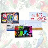 Biglietto da visita traslucido/trasparente libero del PVC
