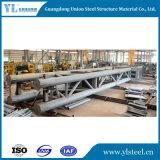 De geprefabriceerde Bouw van het Staal van de Brug van Vestingmuur van het Frame van het Staal Modulaire Ontworpen