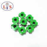 De groene Noot van het Meubilair van de Noot van het T-stuk van de Noot van T met 4 Rieken
