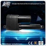 12V/24V/36V/48V DC Motor lineal actuador para excavadora industrial con fuerte empuje/Heavy Duty/alta capacidad (HB-DJ808)