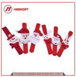 Promoción mayorista decoraciones de Navidad Santa Claus Bear ciervos Pulsera de Navidad