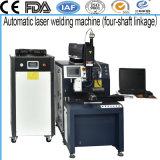 Fabricante China Máquina de soldadura láser automático Four-Shaft elevador para piezas de precisión