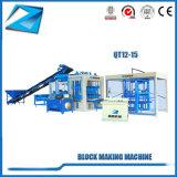 Automatische bewegliche hohle Qt12-15 Ziegeleimaschine