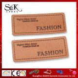 Etiqueta de couro de marca personalizada PU Patch de couro para jeans Denim
