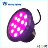 colore 36W che cambia l'indicatore luminoso subacqueo RGB del LED per la piscina e la fontana