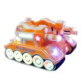 위락 공원 전기 부모 아이 다채로운 LED 탱크 큰 차