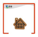 Brown-Square Etiqueta de regalo o simplemente Hangtag