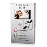 Banheira de vender o ecrã táctil TFT de 7 Polegadas Vídeo Metro Telefone do ponto de Ajuda