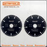 disco circolare del diamante brasato vuoto di 115mm con multi scopo