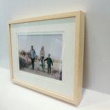 Деревянные зерна Pringting поверхность стола из алюминия Photo Frame форме Фошань заводской сборки