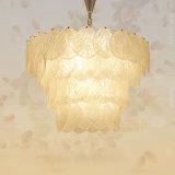 Retro kupferne Glasleuchter-Beleuchtung für Wohnzimmer-Gaststätte-Landhaus-Hotel