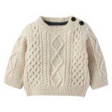 De Kinderen die van de boutique Katoen kleden breien de Nieuwe Sweater van het Meisje van de Baby van het Ontwerp