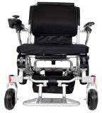 신체 장애자를 위한 알루미늄 합금 250W 무브러시 모터를 가진 대중적인 호화스러운 Ultralight Foldable 전력 휠체어