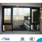 Un estilo moderno de aleación de aluminio Casement Window
