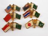 Drapeau national de l'épinglette, drapeau d'un insigne (GZHY-NB-005)